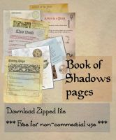 Book of Shadows 02 compendium by Sandgroan