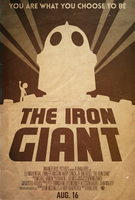 The Iron Giant - Alt. Minimalist Poster by disgorgeapocalypse