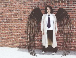Castiel Cosplay by maraaax3