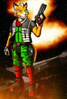 Fox Mccloud by egpants