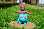 Baby Groot and Bulbasaur Crossover by CraftDragons
