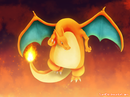 The Charizard Rises [Colorful] by SaintDill