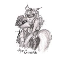 Sly and Carmelita by Goten0040