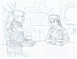 Red Dwarf Animatic Pencils 1 by karcreat
