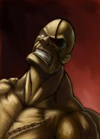 Sagat Portrait by 8kx