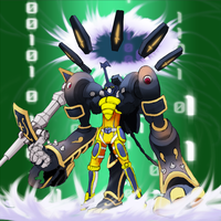 Digimon Frontier Tuned - IonScarabmon by plzgaiasrebirth