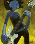 The Bass Player by jasinski