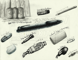 Doodles: Still Life Practice by Lavenkitty