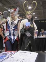 Fourth day at Fan expo 6 by WhiteFox89