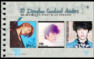 10 Donghae Facebook Avatars by H-Diddy