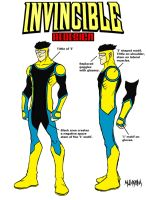 Invincible costume redesign by BloodySamoan