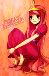 Princess Bubblegum by Izzu-shi