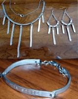 hammered wire jewelry set by RaheHeul