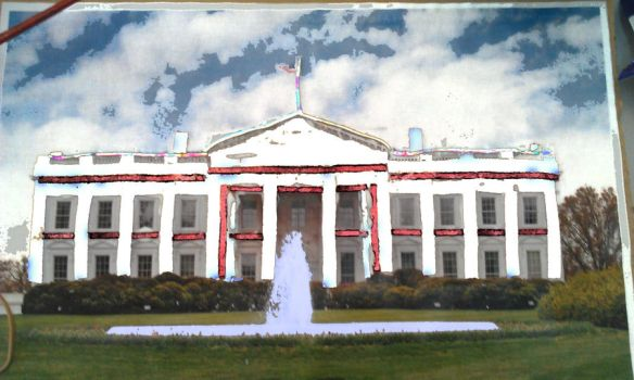 Elasticated White House by daisychao