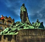 Jan Hus Statue02 by abelamario