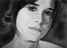 Ellen Page by WSpower