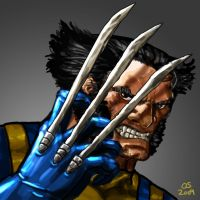 Wolverine Maskless by osx-mkx
