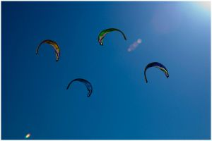 Kites in the sky by ernieball