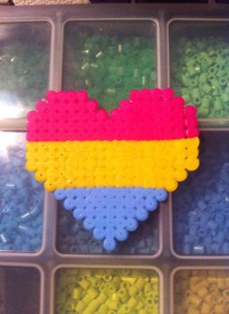 Pansexual Heart by mininete