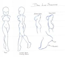 Line Structure Sketch by dawnbest