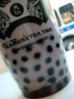 Taro Bubble Tea by Kimmybeans