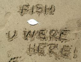 Fish you were here by Mygrapefruit
