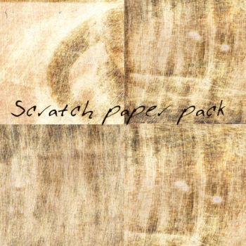 scratch paper textures pack by yulia7