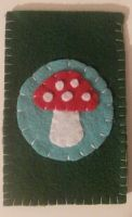 Mushroom Phone Case by KaleidoscopicFungi