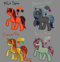 MLP Adoptables 3 :open: by Kaiura