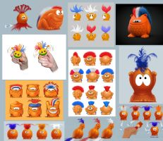 World Cup mascot designs by StoryboardsNL
