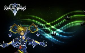 Sora X Kingdom Key Wallpaper by Psnfred