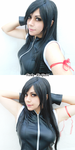 Tifa Lockhart cosplay - Final Fantasy AC by Vicky-Redfield