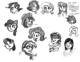 Humanized because why not? by ponyrake