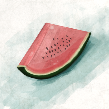 Watermelon by hullabaloon