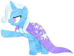 RT Characters: The Great and Powerful Trixie by Narflarg
