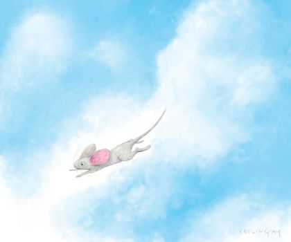 She leaped . . . by chashio