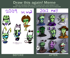 Before and After Meme by Zerna