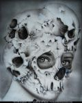 Skull-portrait by Edth
