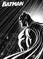 Batman: Black and White by Hal-2012