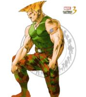 Guile - Marvel vs Capcom 3 by AverageSam