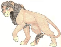 Harry Potter lion by HekateLesedi