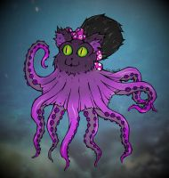 Catopus colored by crochetamommy