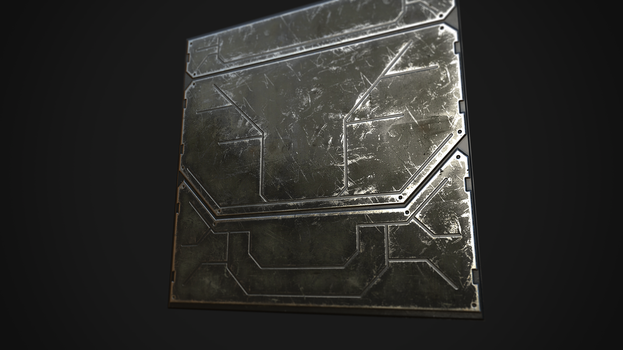 Texture practice using Quixel Suite by EVIL-MINDS-CREATIONS