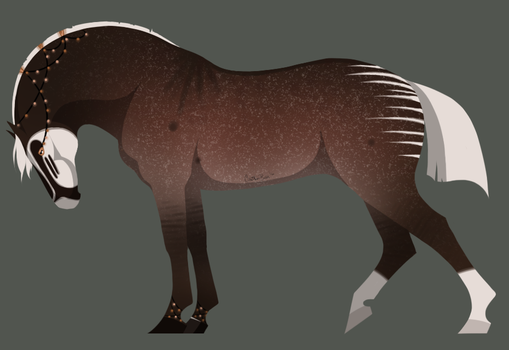 A3147 DWS Lightwood SOLD by EmeraldTheWolf