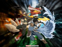 Legend of Korra by HenshinGeneration