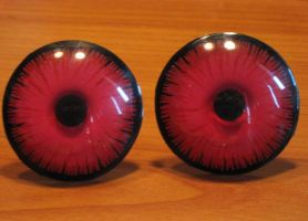 4cm Red glowing Led eyes by Monoyasha