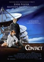 'Contact' Movie Poster by Nimrais