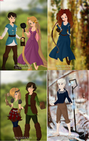 Guardians Of The Seasons by Wintersnow123