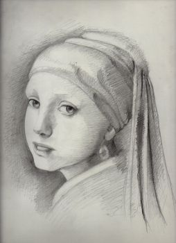 Girl With a Pearl // Academy Work by mendivant