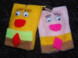 Gantungan hp Spongebobe by handcraft-unik